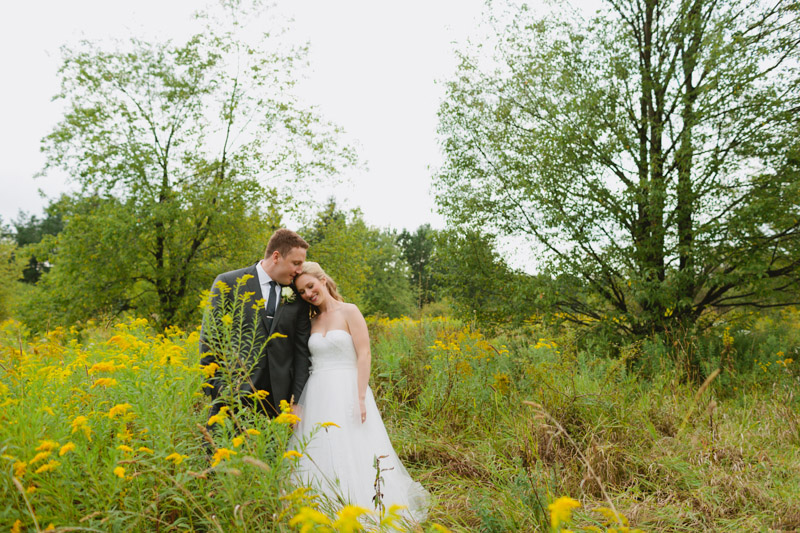 orangeville country backyard wedding