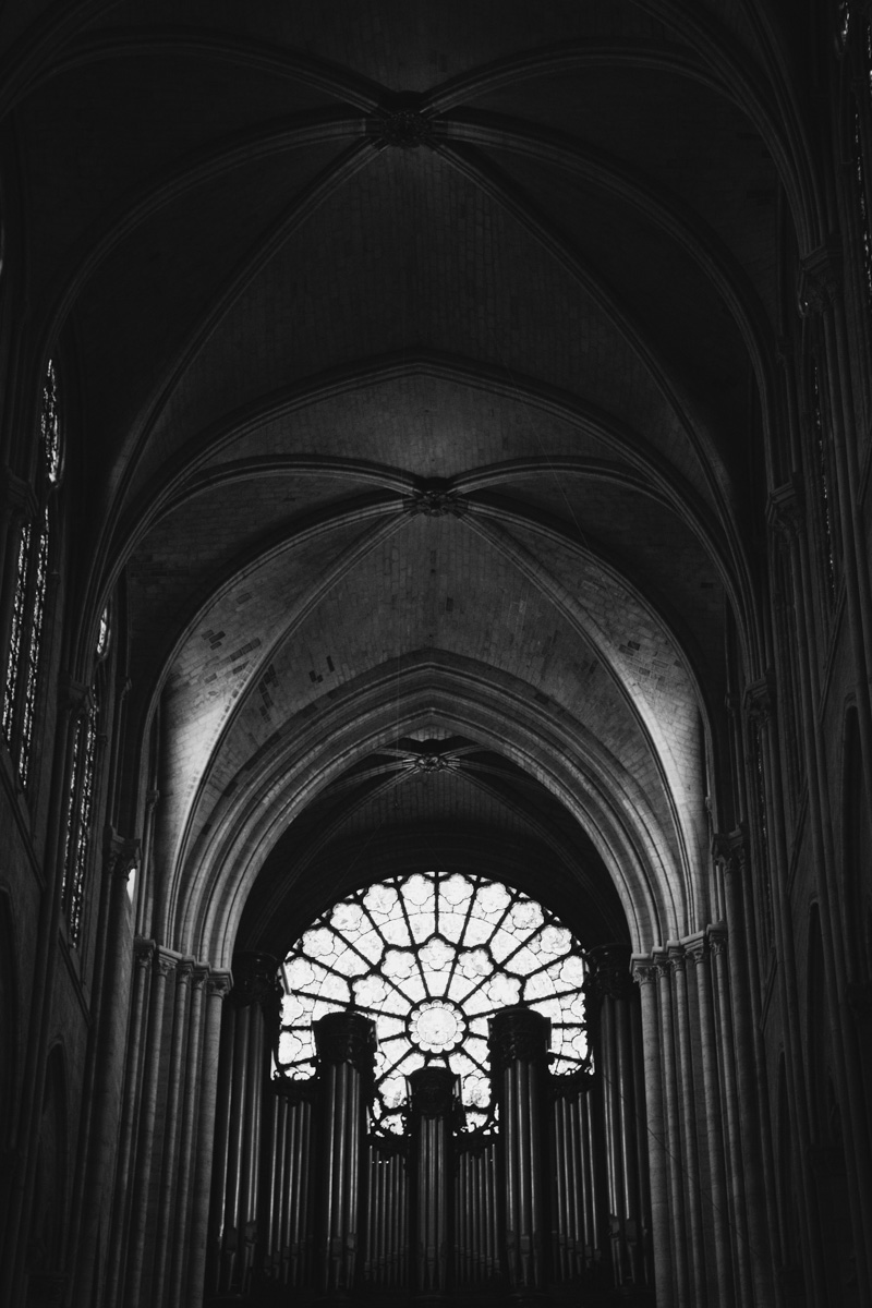 paris-notre-dame-photos-bw-rose-window