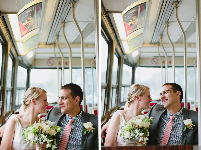 elopement-photography-toronto-streetcar-wedding-photos