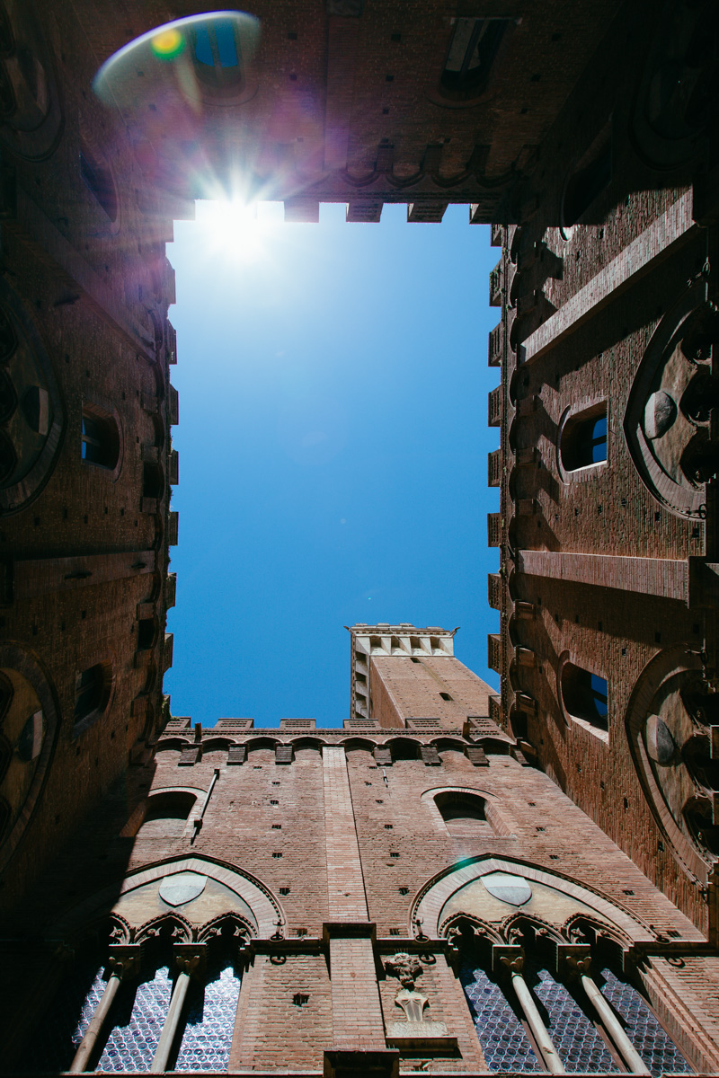 siena bell tower