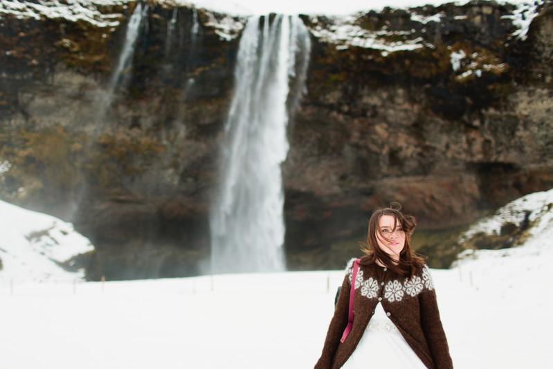 winter iceland wedding photos