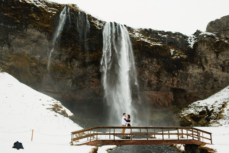 seljalandsfoss wedding iceland