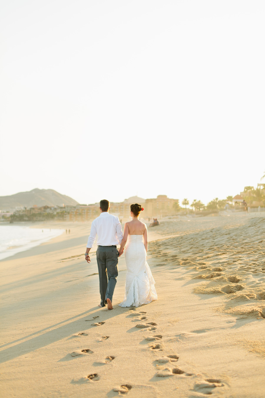 cabo beach wedding photos