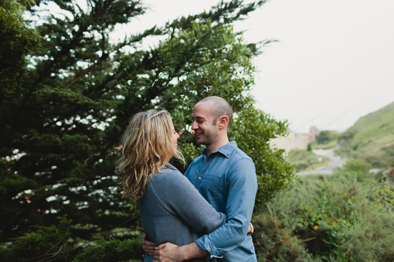 san fran engagement photography
