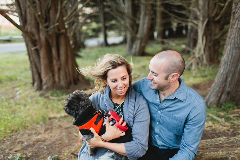 engagement photos with your pet