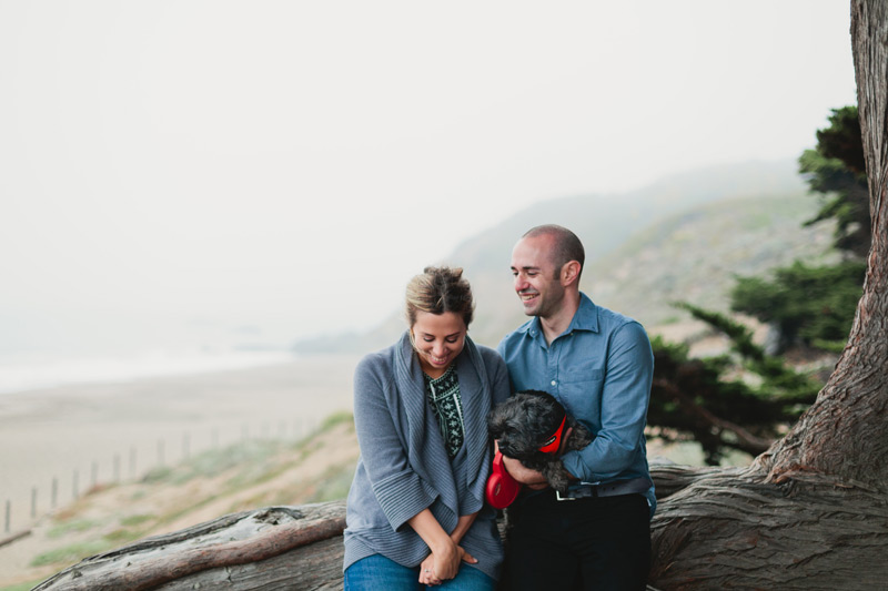 san fran engagement photos baker beach