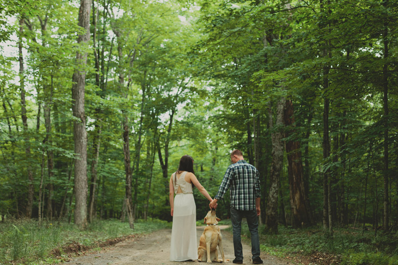 Boho Cottage Engagement Photos