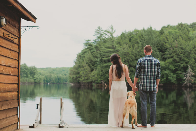 Muskoka Engagement Photos