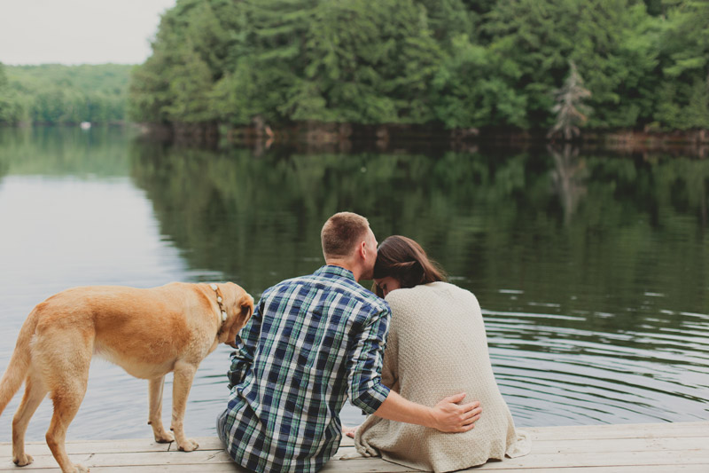 Cottage Country Engagement Shoot