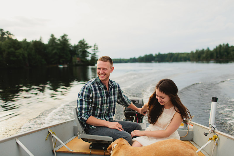 Muskoka Engagement Photo Ideas
