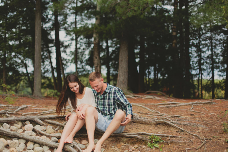 Pre Wedding Photos Muskoka Cottage