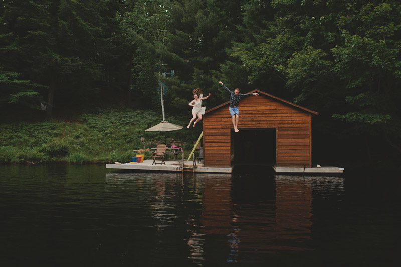Fun Cottage Engagement Shoot Ideas