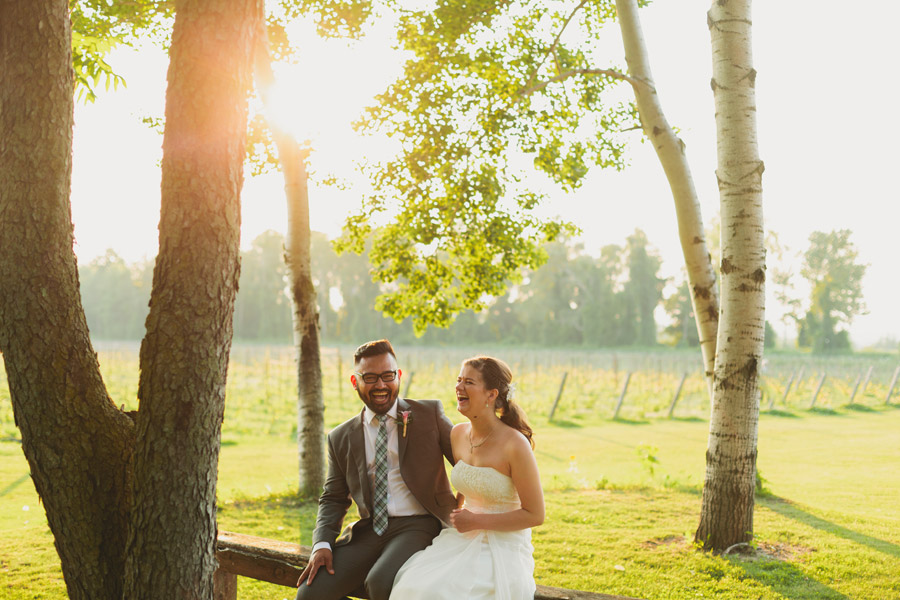 wedding photos at holland marsh winery