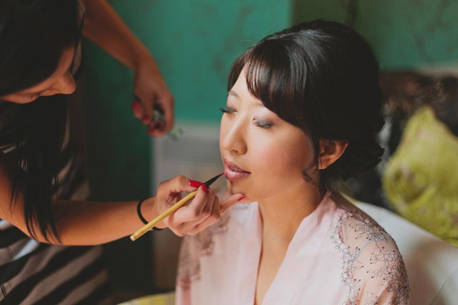 Angelique Polsinelli makeup artist toronto