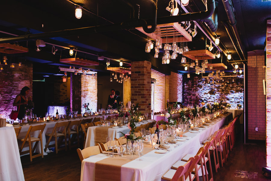 Wedding venues with brick walls Toronto