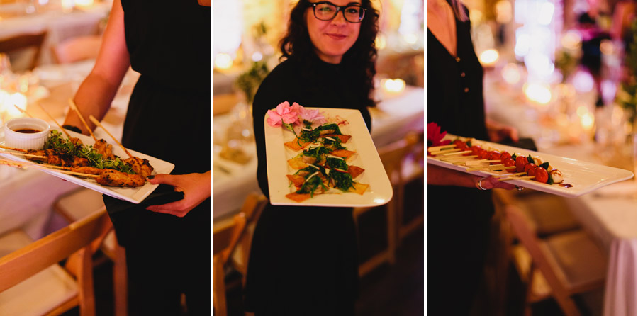 treeline catering wedding