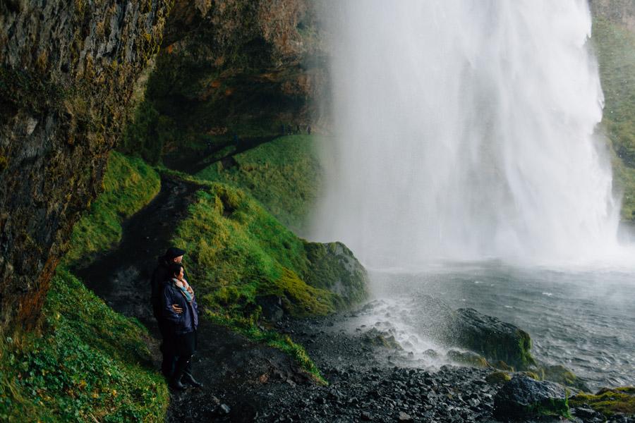 Seljalandsfoss portraits Iceland