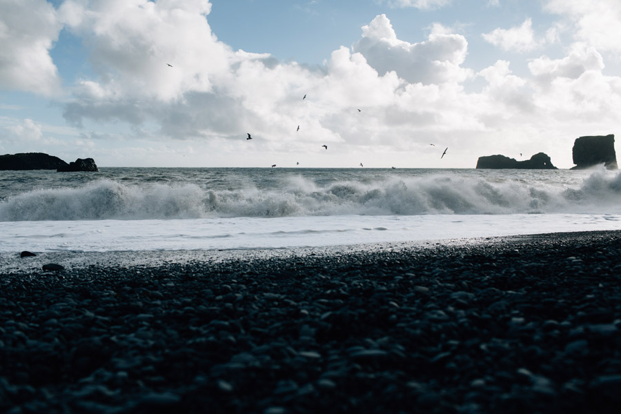 elopement locations black sand beach Iceland