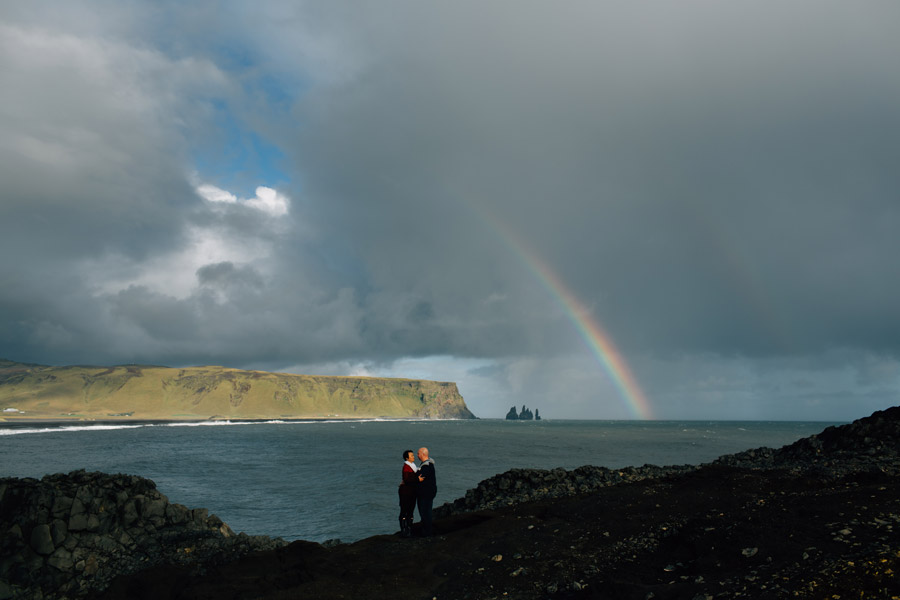 Dyrholaey Iceland portrait photography