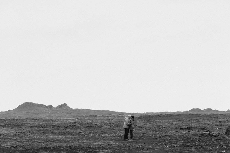 moody icelandic couples session pictures
