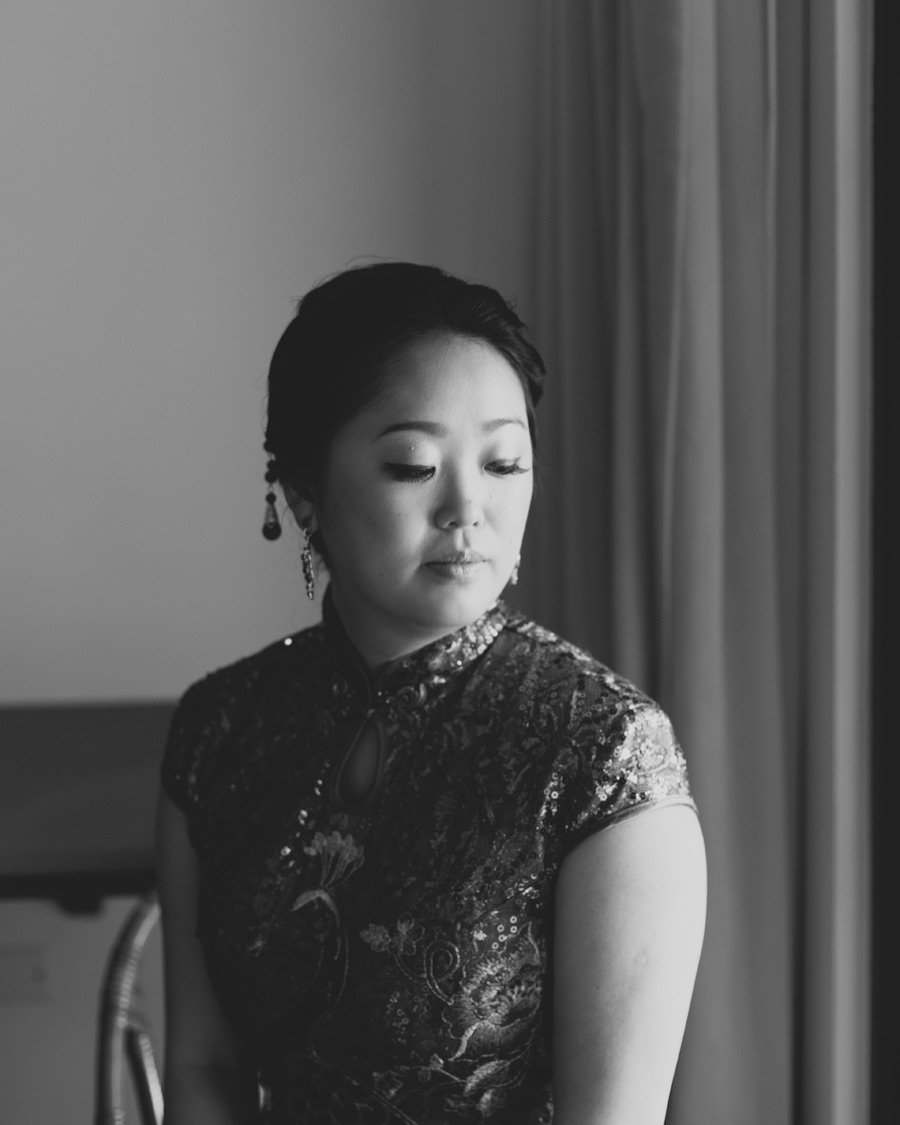 traditional Chinese bridal portrait