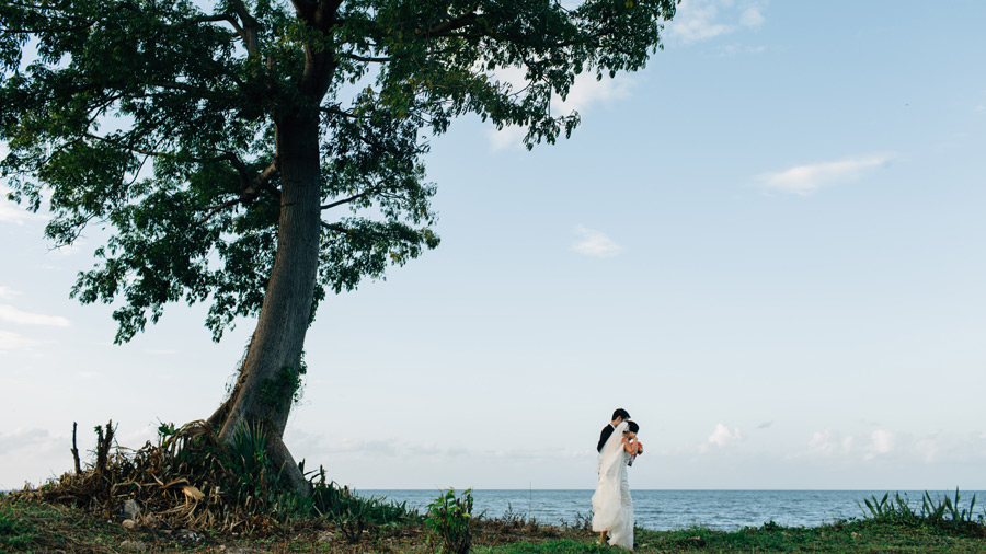 Negril destination wedding photos