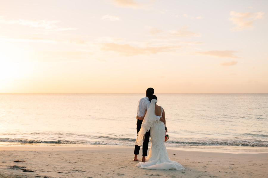 Negril beach wedding location