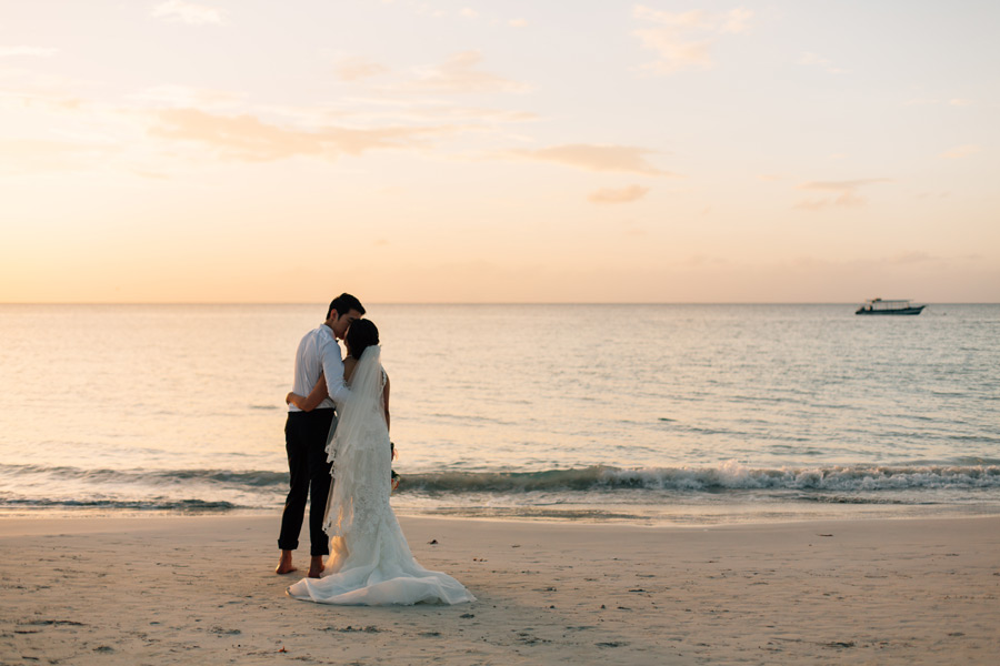 Negril Seven Mile beach wedding photos