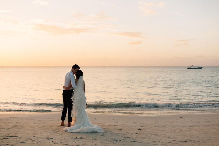 Negril Seven Mile beach wedding photos