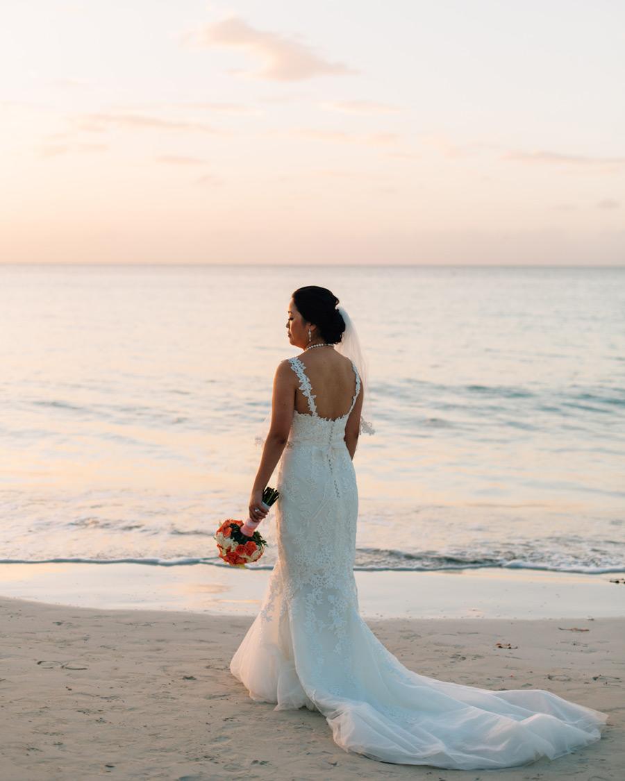 Negril Jamaica wedding photos