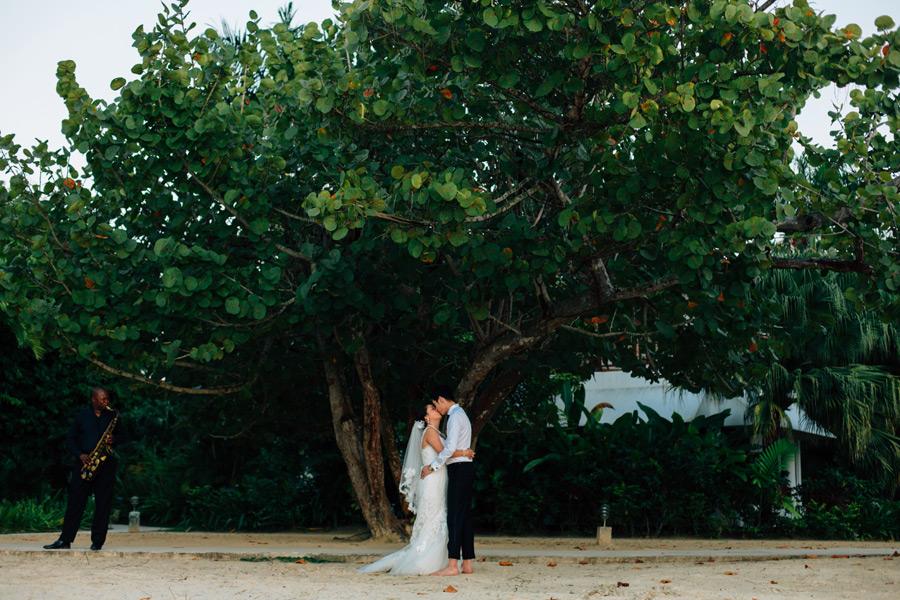 Wedding photos Negril Jamaica