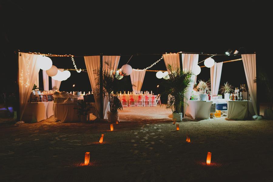 Beach wedding Negril
