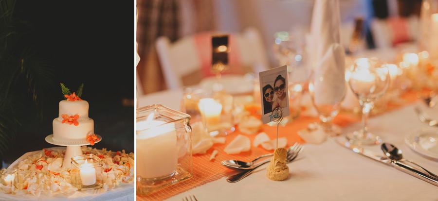 Negril beach wedding reception ideas