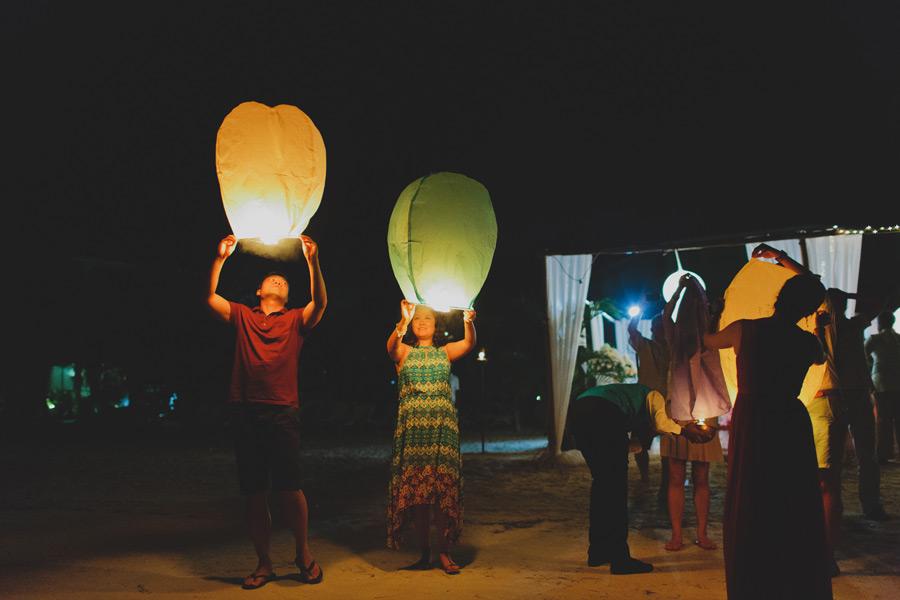 Fun wedding ideas lanterns