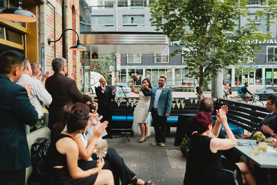 Drake hotel wedding ceremony