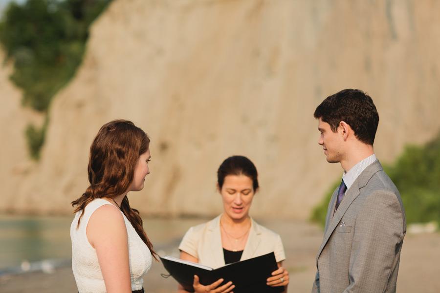 Bluffer's park wedding