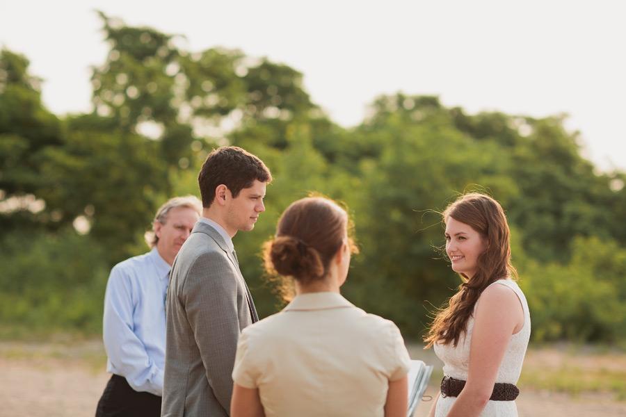 Wedding at Bluffer's park