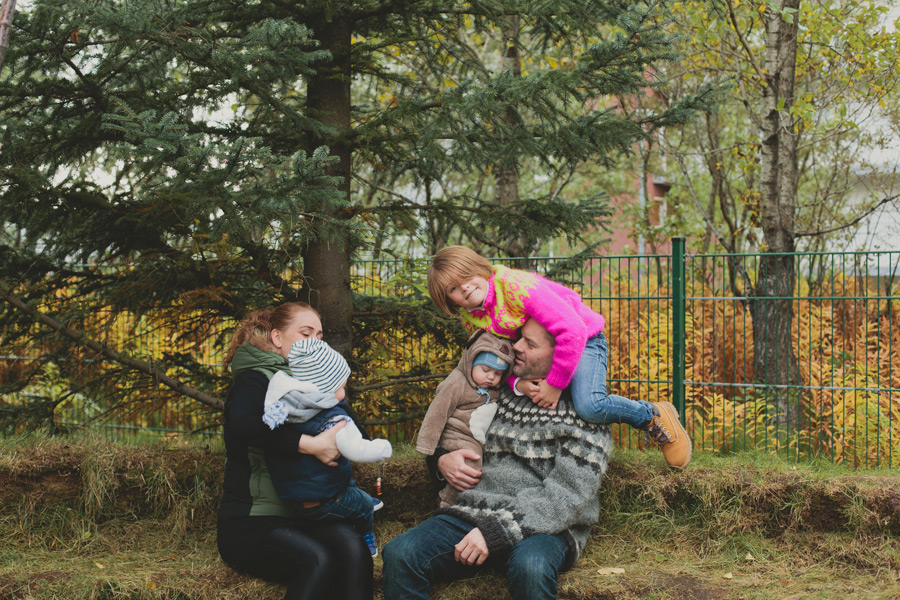 family photos reykjavik