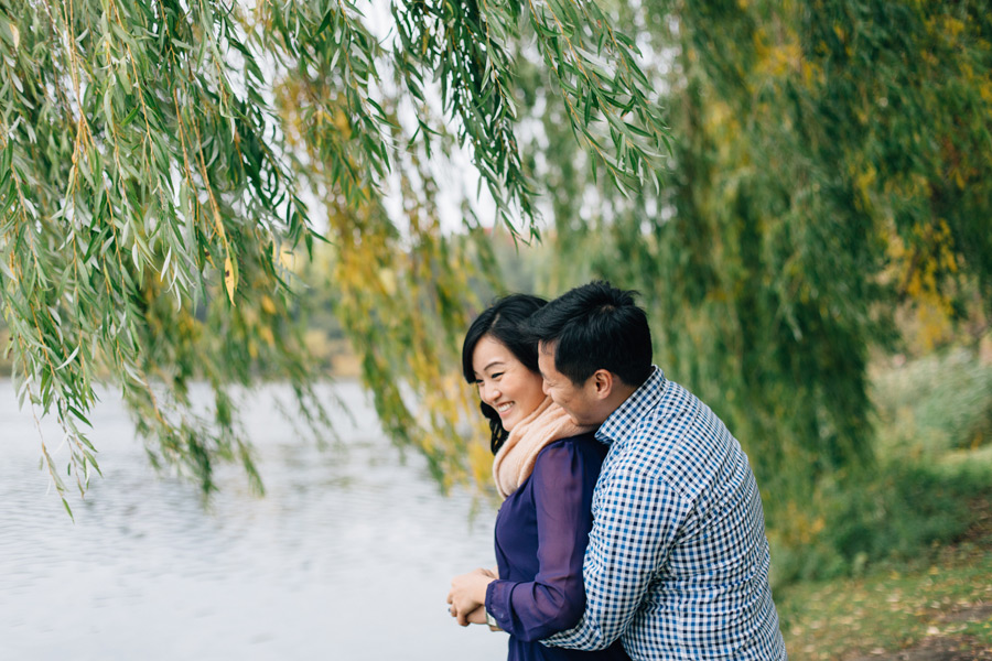 High park engagement photos