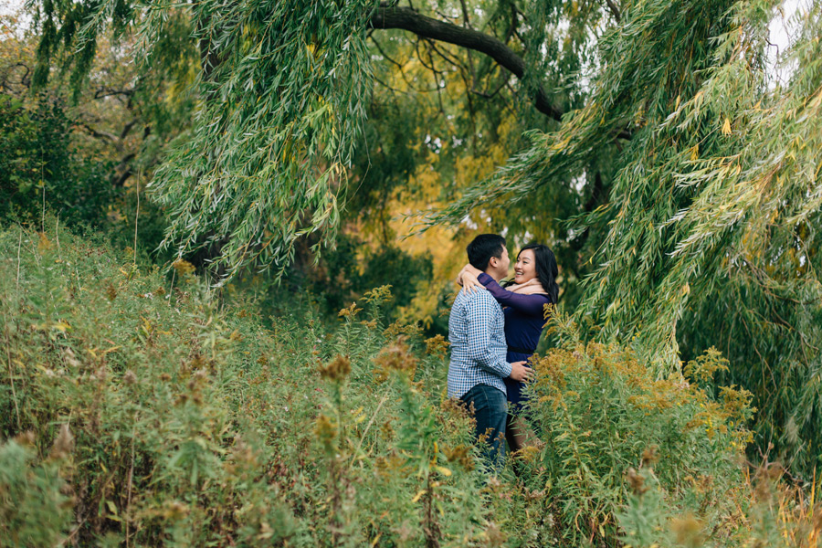 Fall High Park engagement pictures