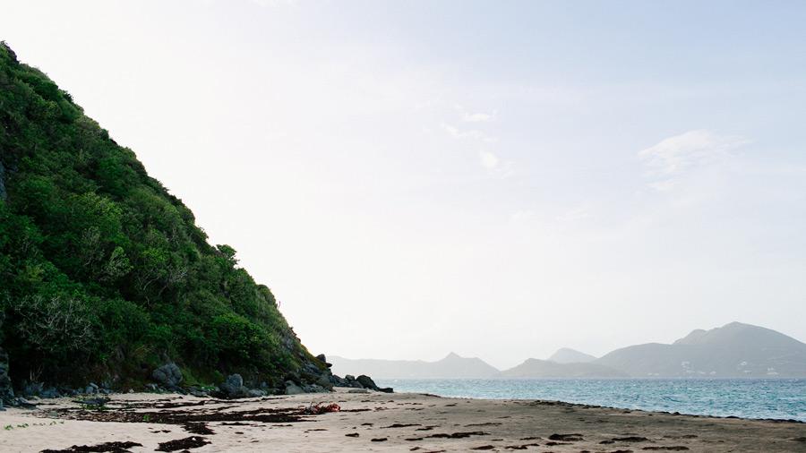 Lovers beach Nevis