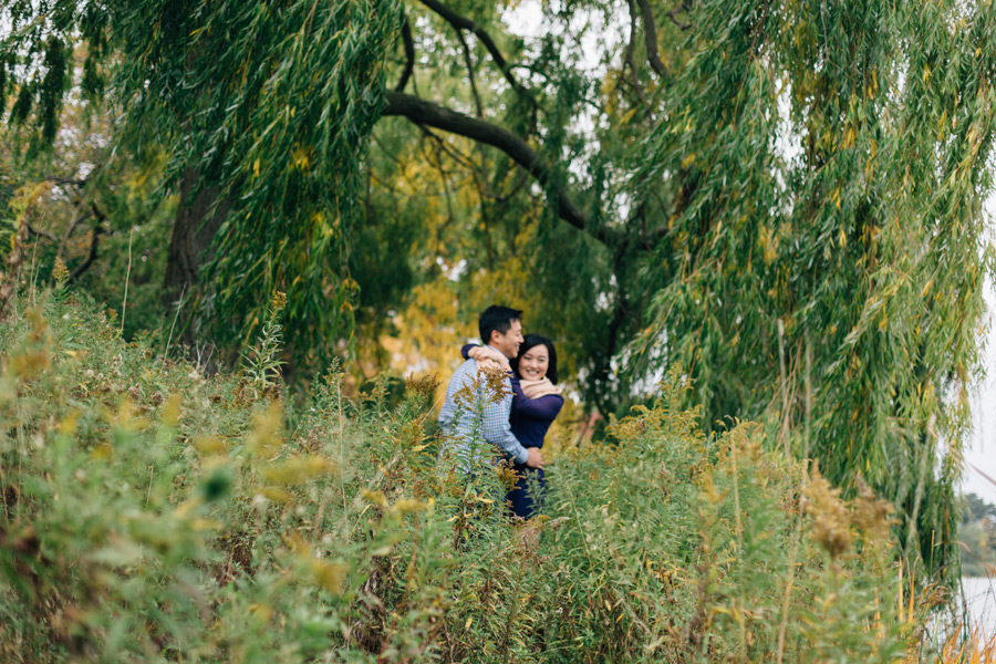 Fall engagement picture locations