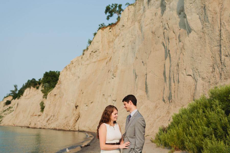 Bluffer's park wedding portraits
