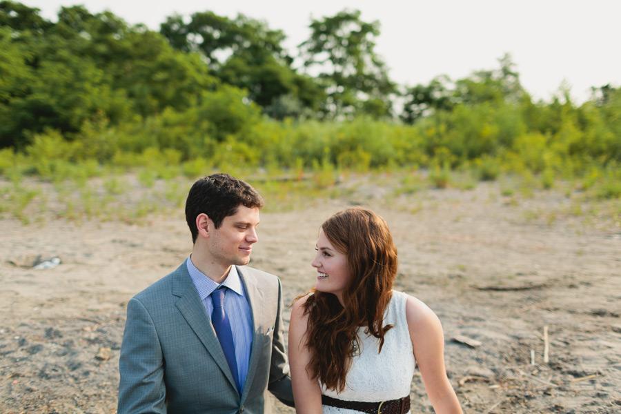 Wedding portraits Bluffer's beach