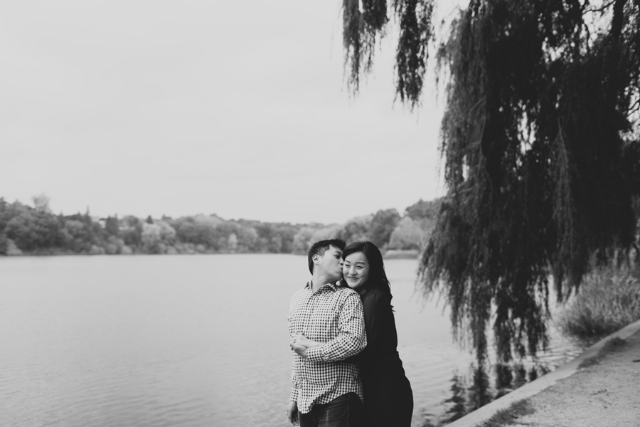 High park engagement shoot