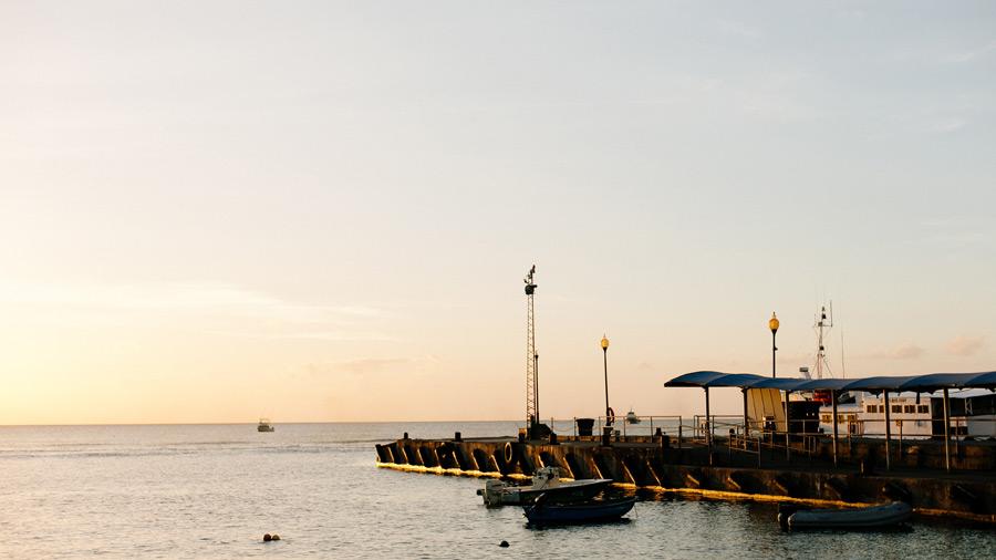 Nevis harbour