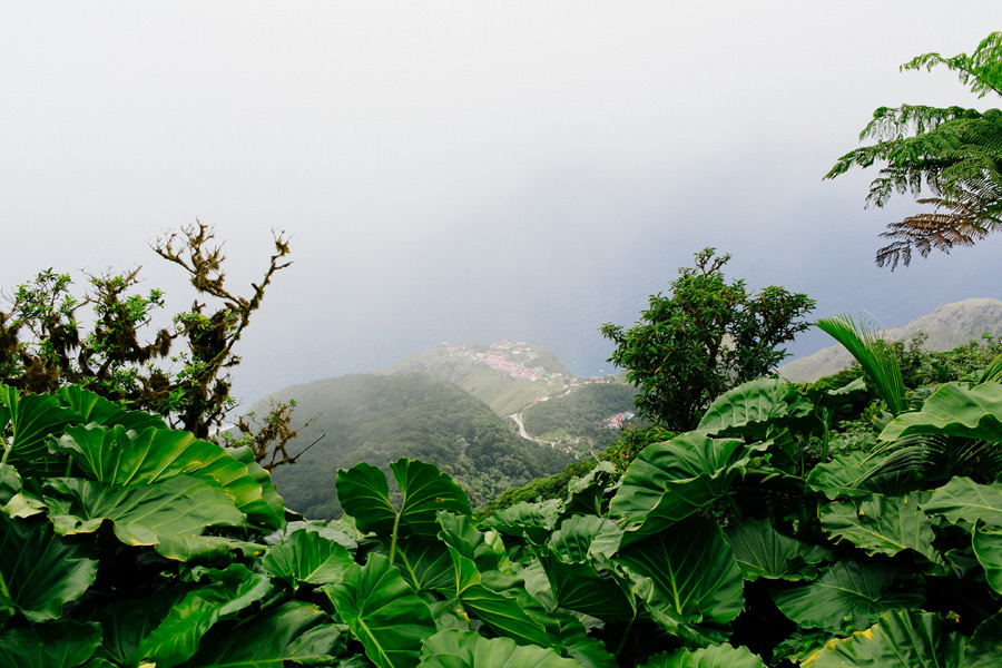 Mount Scenery Saba pictures