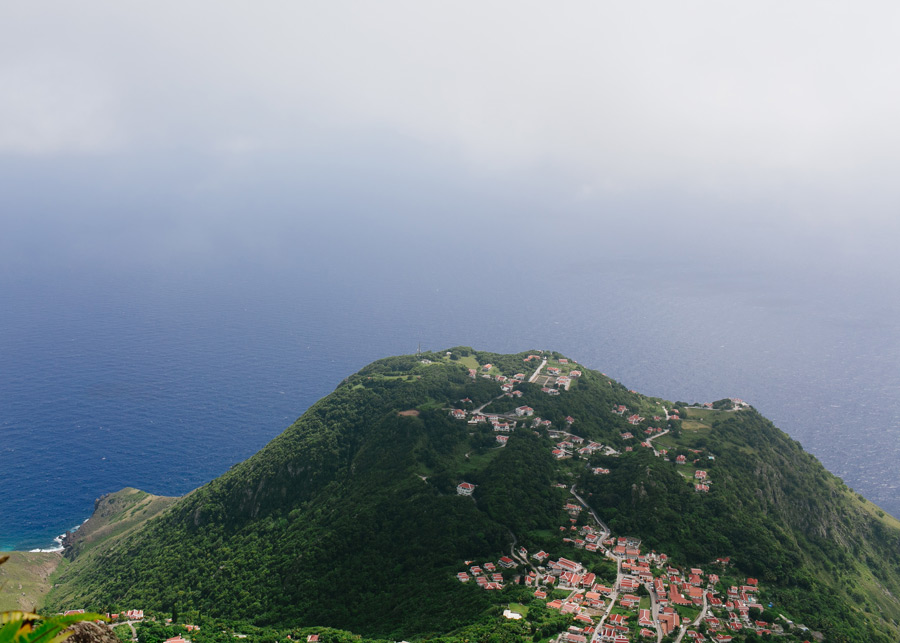 Mount Scenery hike Saba