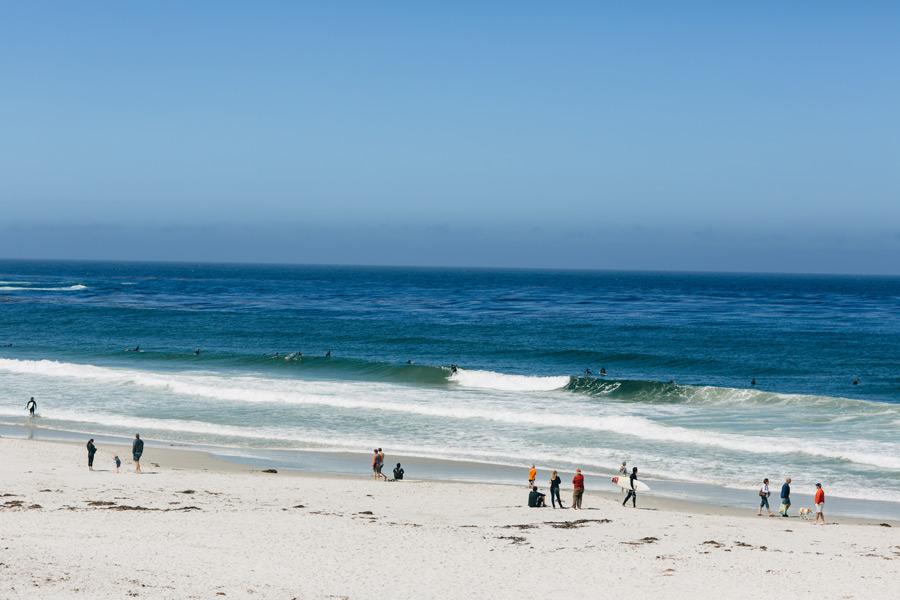 Carmel surfers
