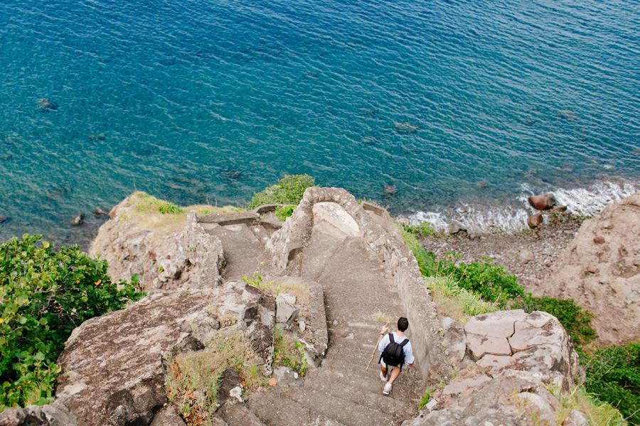 The Stairs Saba